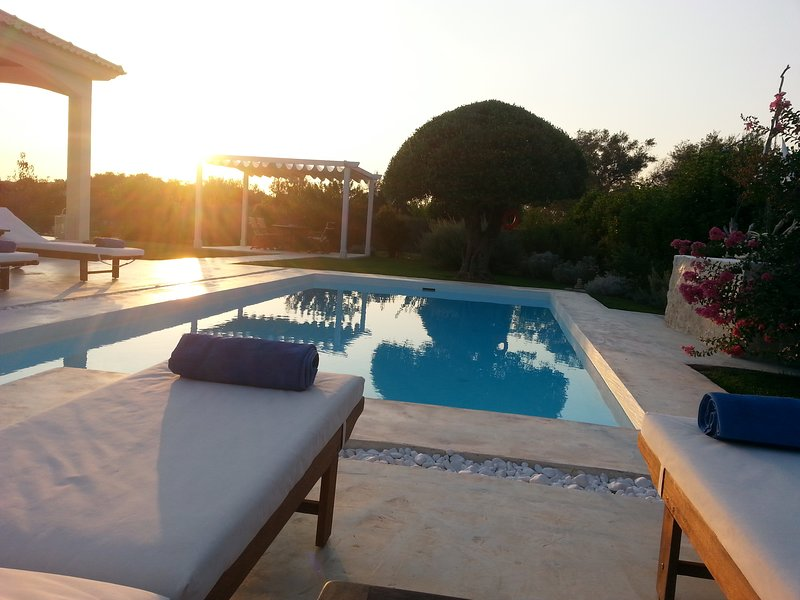 villa evanna, vacation rental in Lefkimi