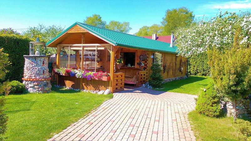 Cottage by the sea Jurmala Guest House Melon, location de vacances à Lapmezciems