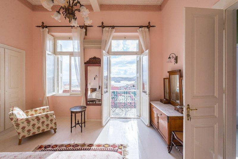 Villa Maria-Syros,Narkissos, location de vacances à Ano Siros