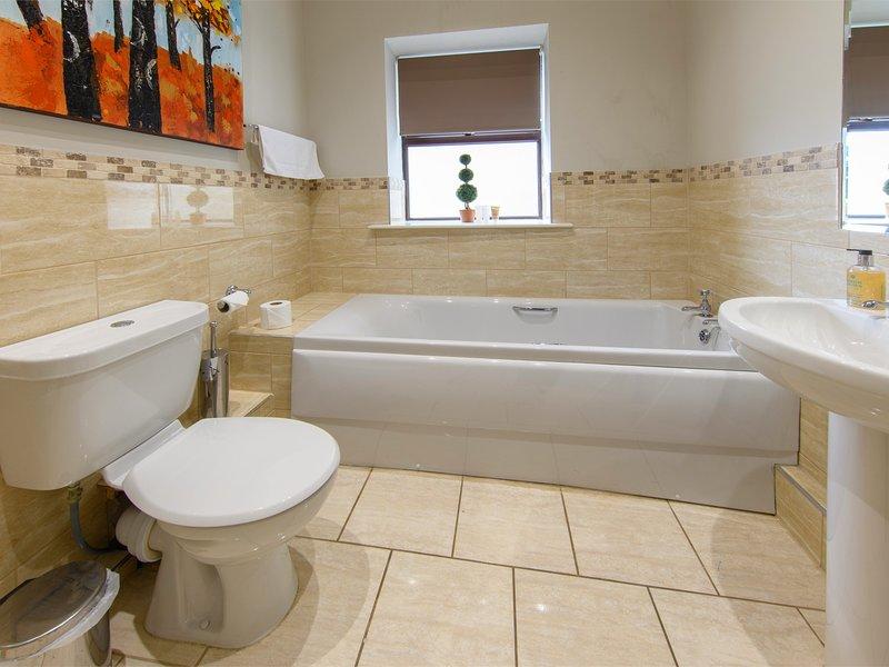 Disfrutar de un baño de burbujas