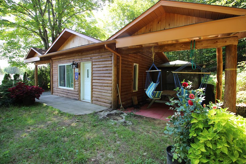 Chalet Le Saint-Flavien, holiday rental in Saint-Mathieu-du-Parc