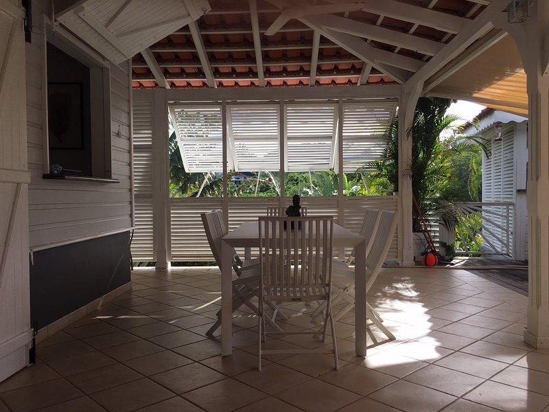 Villa de charme avec piscine et vue mer aux Trois Ilets, location de vacances à Trois-Ilets