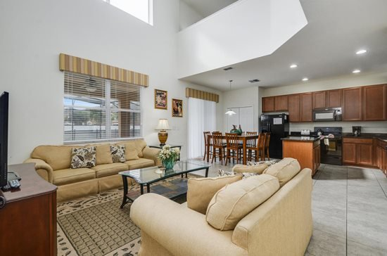 107ADC. Stunning 6 Bedroom 4.5 Bathr Pool Home in Watersong Resort, vacation rental in Orlando