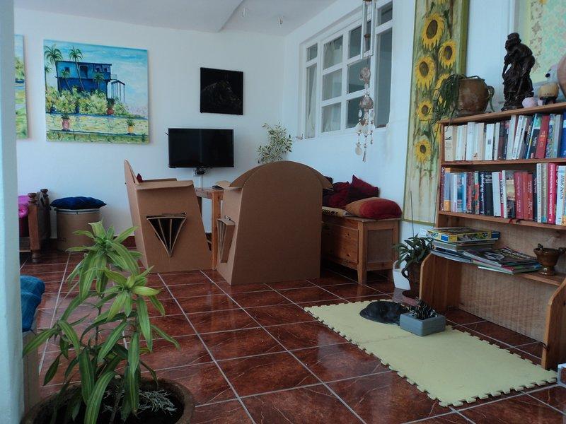 joli appartement au terrasse pour 3 personnes, location de vacances à Essaouira