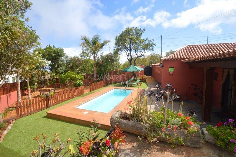 Charming Country house Puntagorda, La Palma, alquiler vacacional en Puntagorda