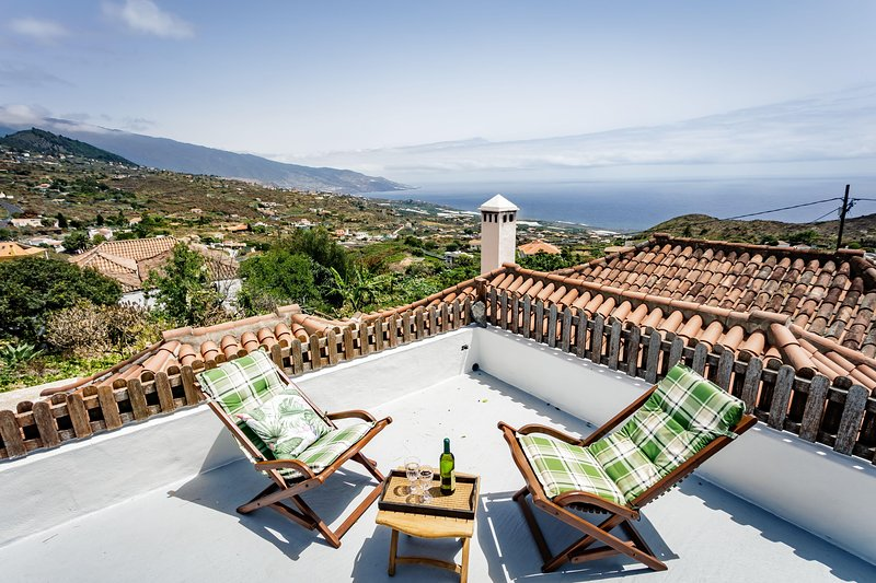 Charming Country house Villa de Mazo, La Palma, vacation rental in La Rosa