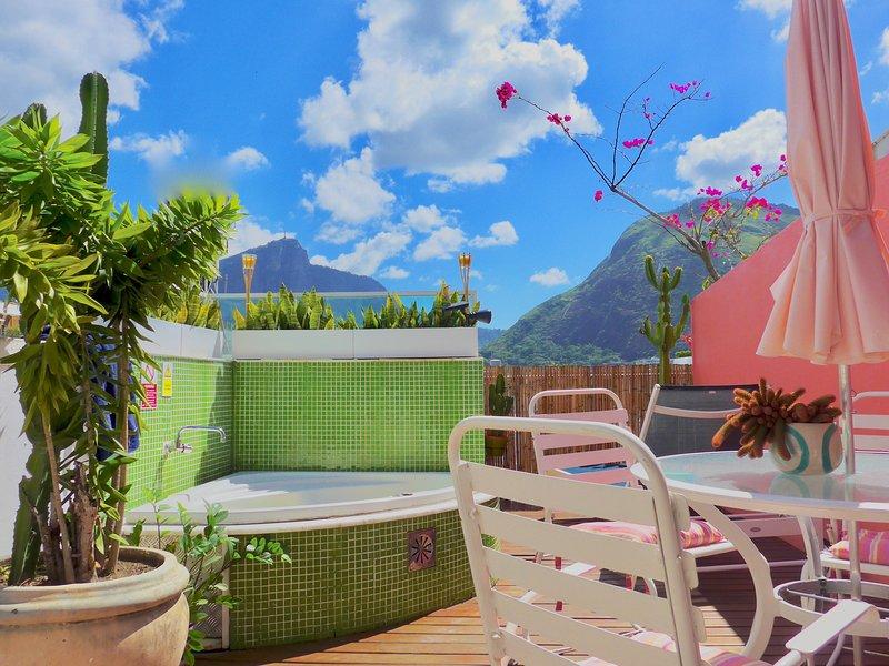 The best terrace in Rio!