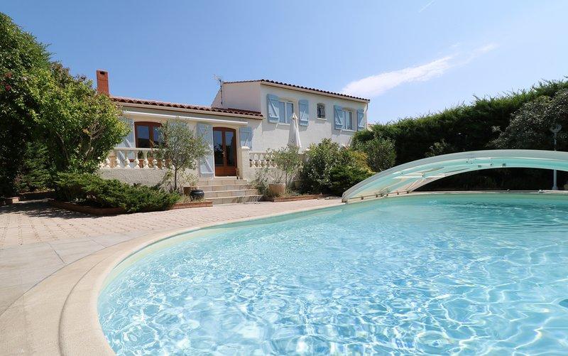 Maison avec piscine proche de Montpellier, casa vacanza a Grabels