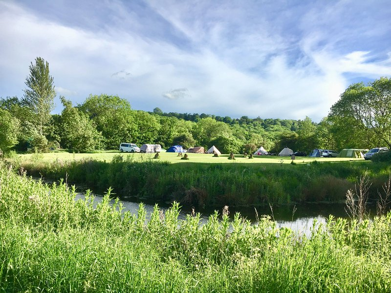 This is Cotswolds Camping at Holycombe - the campsite