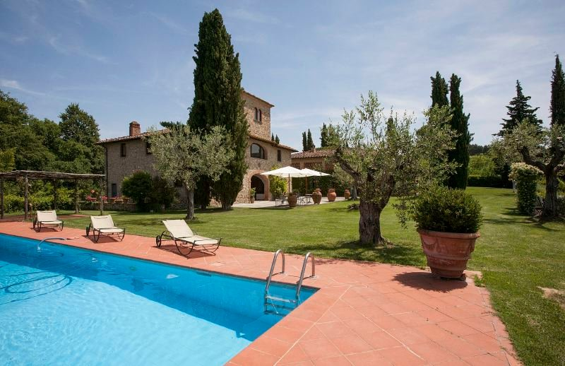 Calzaiolo Villa Sleeps 10 with Pool and WiFi - 5218193, vacation rental in San Casciano in Val di Pesa