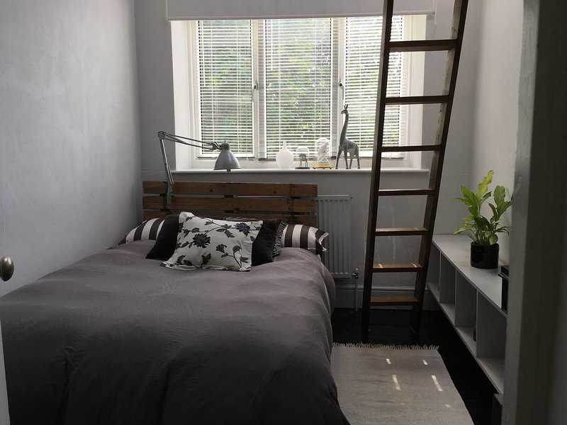 bedroom 2 with ladder to high bunk