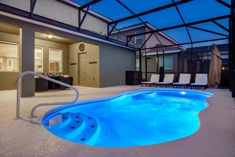 Solterra Brand New | Now Big Discounts | Heated Pool | Movie & Games Rooms, alquiler de vacaciones en ChampionsGate