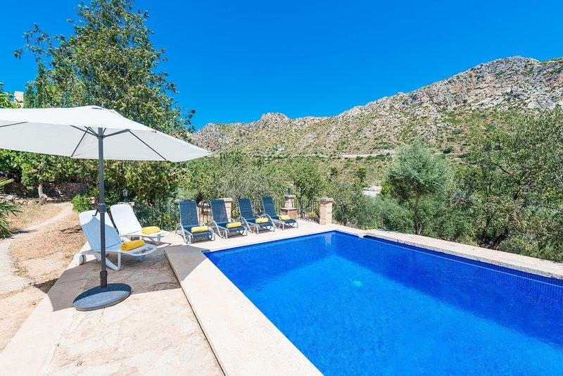 SA TARONGERA - Villa for 6 people in ANDRATX, aluguéis de temporada em Sant Elm