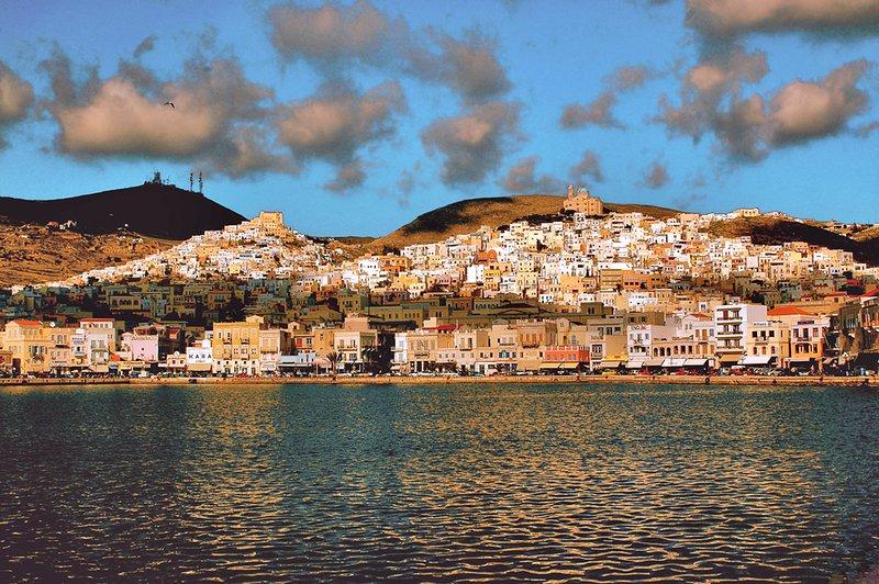 Hermoupolis and Ano Syros