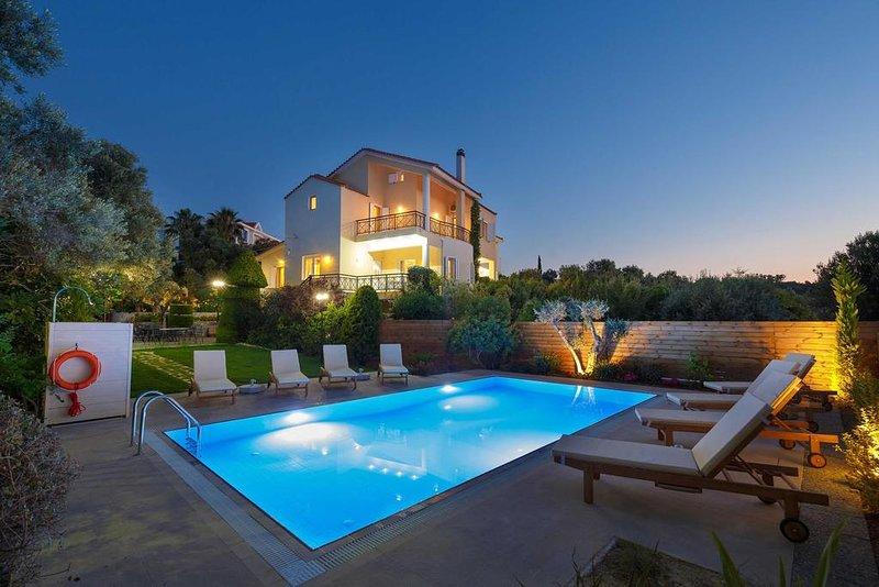Simore 5BR Villa, Kastellakia Rethymno, vacation rental in Xiro Chorio