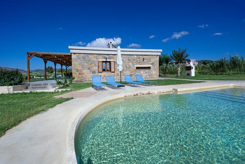 Seascape Villa, holiday rental in Kallergiana