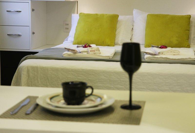 Studio Confort Santa Cecilia - Pool NOVO, vacation rental in Maripora