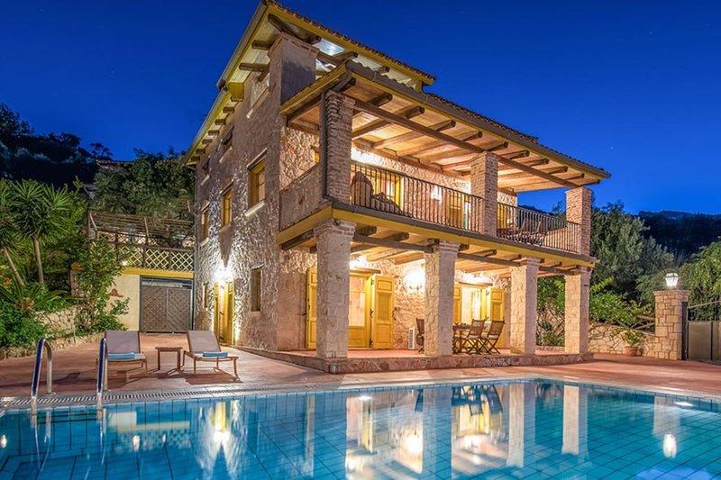 Ivi Seaview Villa, Xirokastello Zante, location de vacances à Xirokastello