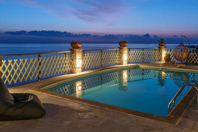 Ioannis Seaview Villa, Xirokastello Zante, location de vacances à Xirokastello