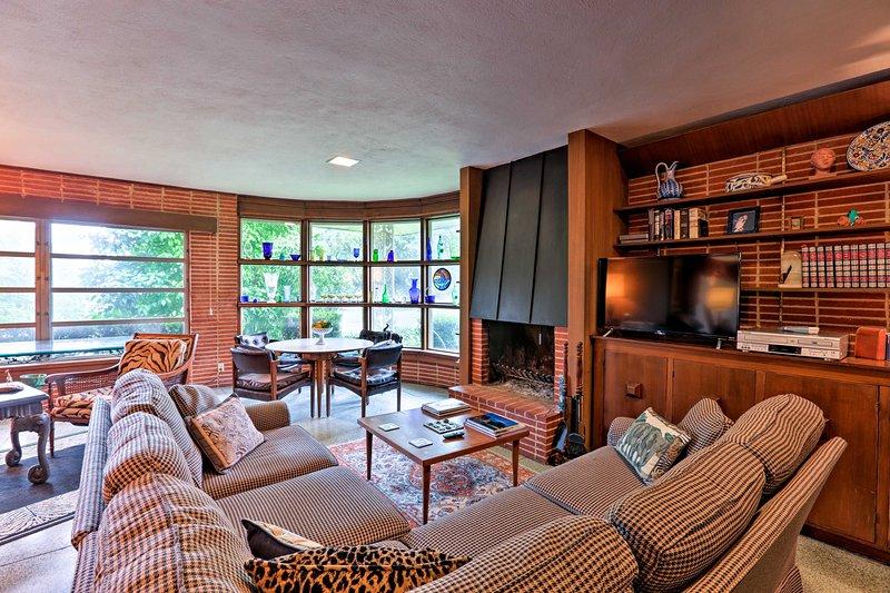 Book a San Antonio getaway to this charming 3-bedroom, 3-bath vacation rental!