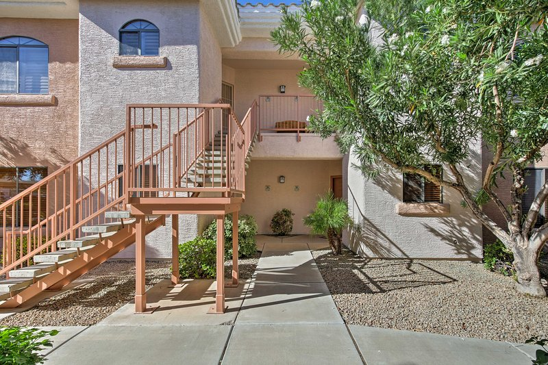 Enjoy access to a pool and numerous other community amenities during your stay.