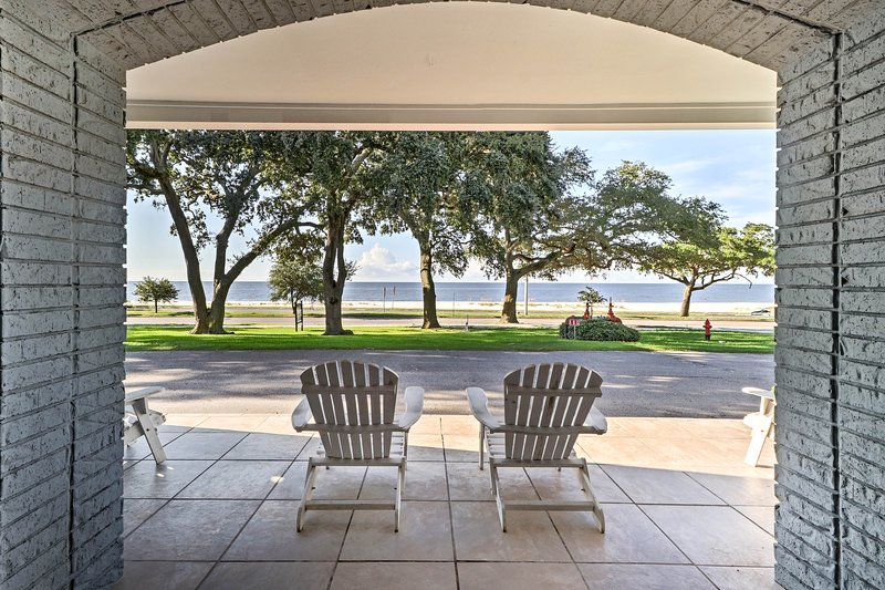 Live the beach life at this 2-bedroom, 1.5-bathroom vacation rental condo!