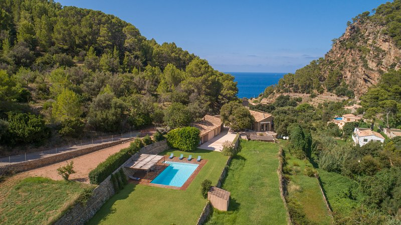 Es Port Cala Estellencs, Villa-Finca 5StarsHome Ma, holiday rental in Es Capdella