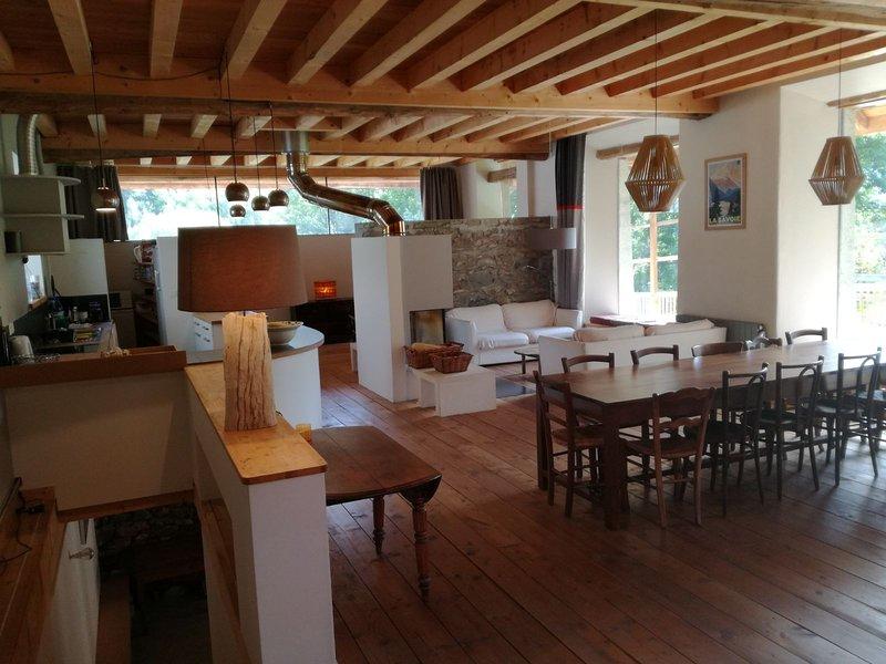 Chalet rénové Les Sybelles (13 personnes, sauna), holiday rental in Savoie