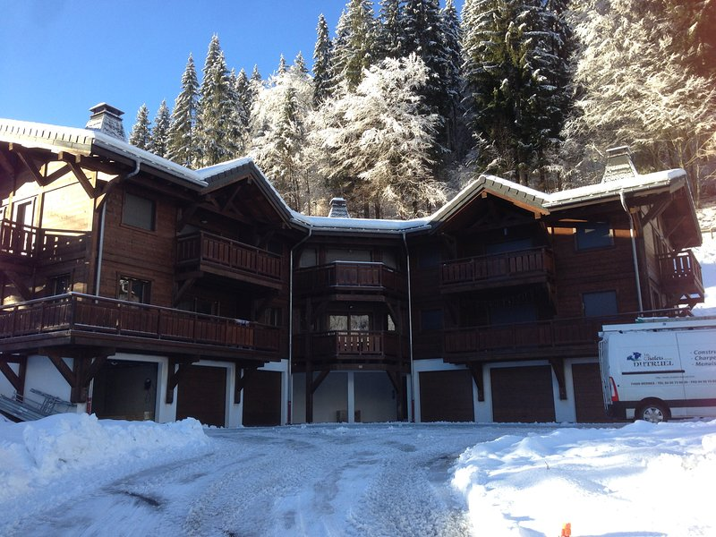 BEL APPARTEMENT 4 ETOILES CENTRE MORZINE, holiday rental in La Cote-d'Arbroz
