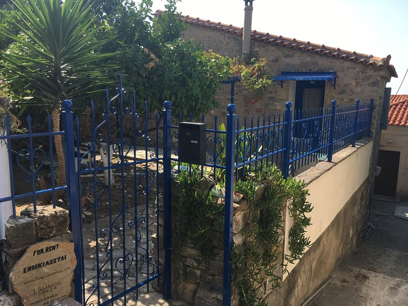 House in Ano Vathy, Samos, holiday rental in Agia Paraskevi