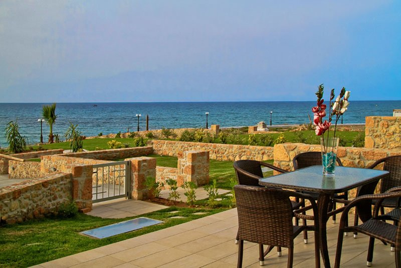 Sea View Beachfront Villa Katrin, holiday rental in Epano Gouves