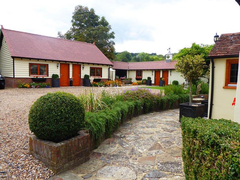 Handywater Cottage, Luxury 5 star Bed and Breakfast, Ferienwohnung in Britwell Salome