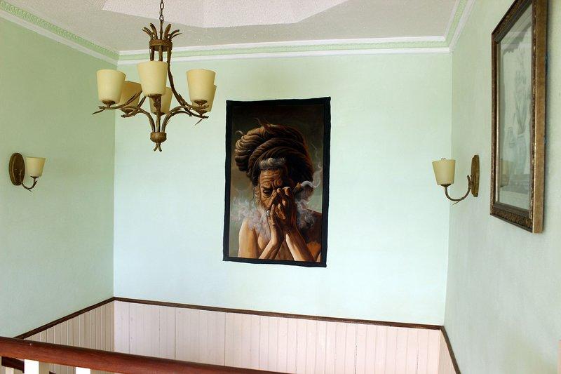 Top floor decoration
