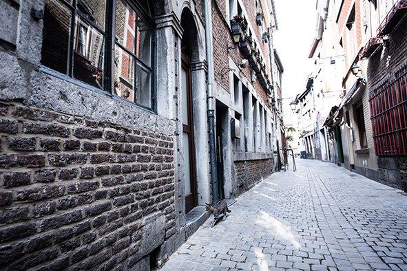 Rue Roture, arrivée du côté gauche