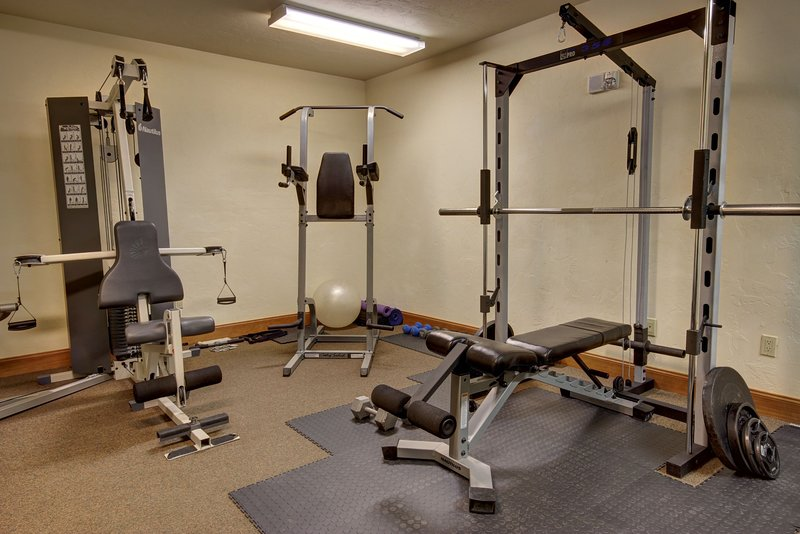 Fitness center located on the second floor of Oro Grande