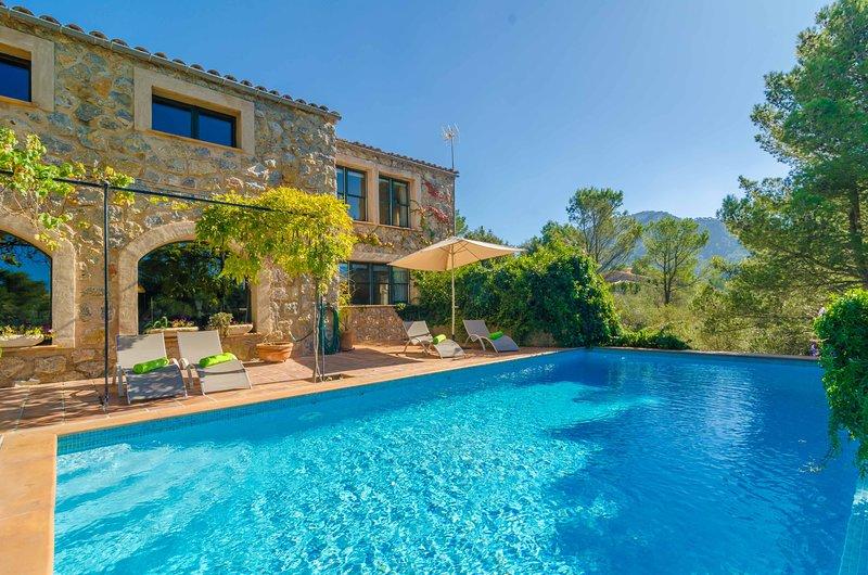 VILLA DOS PINS - Villa for 8 people in Valldemossa, alquiler de vacaciones en Valldemossa