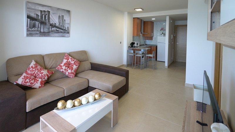 AS Apartamentos 2ºB (Terraza + Vistas al mar), vacation rental in El Morche