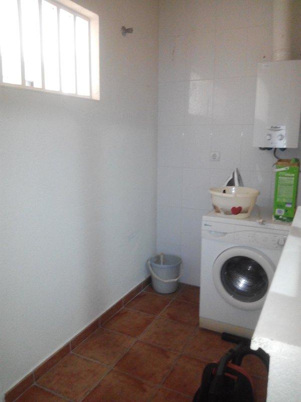 Galerie avec machine à laver