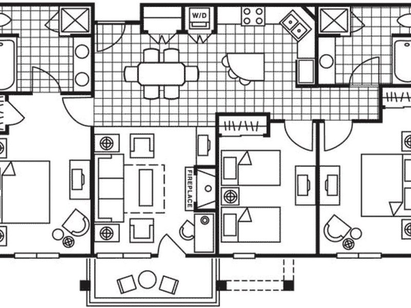 3 Bedroom Plan