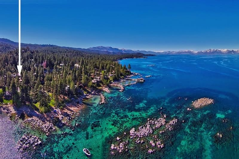 Luxury Home Location and Lake Tahoe Private Beach