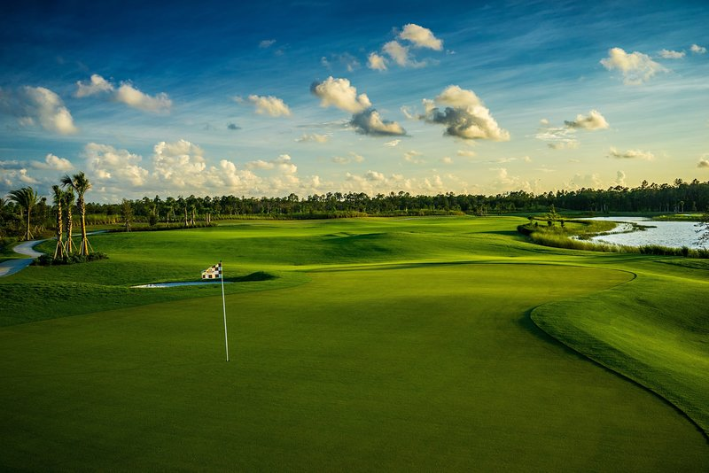 Golfer's Paradise! Our Home is on the 16th Green!