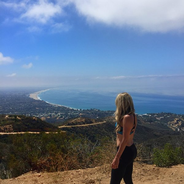 Los Liones, one of the most beautiful hiking trails in Los Angeles. 3 min drive to entrance.