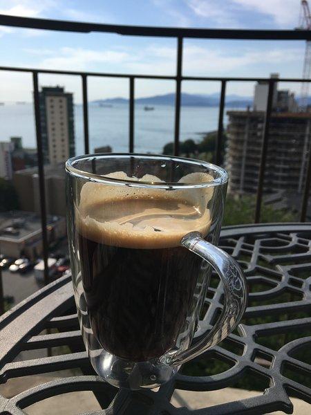 Café en el patio