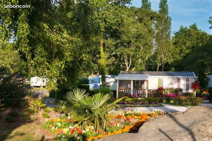 MOBIL-HOME 6 PLACES DANS  CAMPING 4* TOUT CONFORT A PONT-AVEN AVEC 3  PISCINES, location de vacances à Tregunc