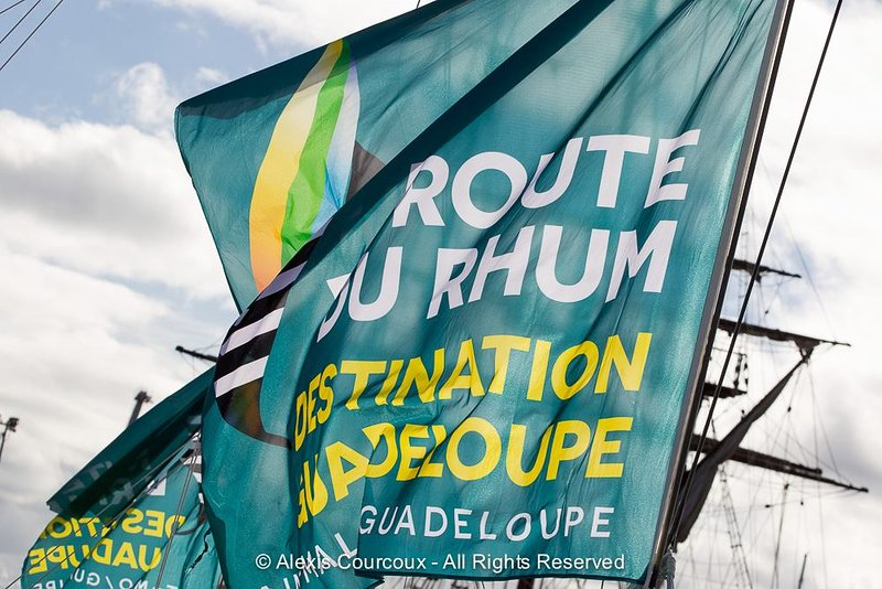 Route of the Rum. Departure, St Malo, November 4th. Opening of the village, October 24th.