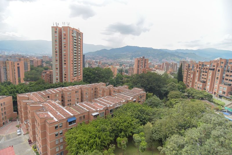 View to the beautiful city of Medellin