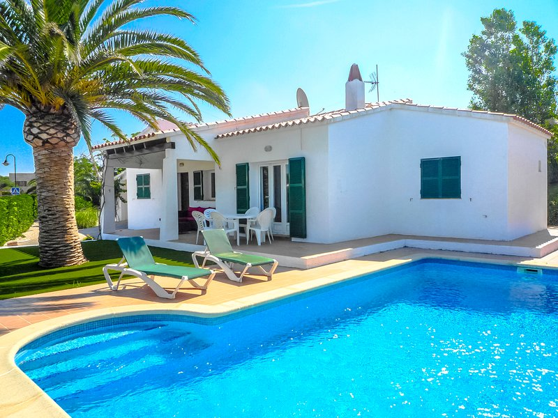 Catalunya Casas: Villa Anco for 6 guests, only 1.5 km to Menorca beaches! – semesterbostad i Sant Climent