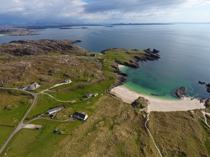 Westhaven Beach House Clachtoll, location de vacances à Drumbeg