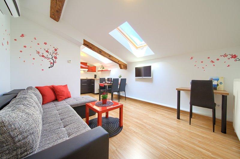 Modern Apartments Muciceva ravan 2, vacation rental in Matulji
