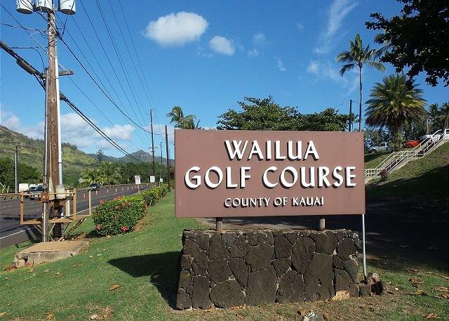 Wailua Golf Course, un rapido 3 minuti di auto a sud